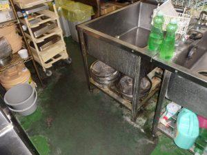 厨房内の害虫の発生源